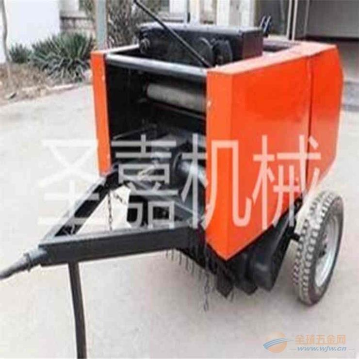湖南圣嘉麦秸打捆机规格 高效率麦草打包机低价促销