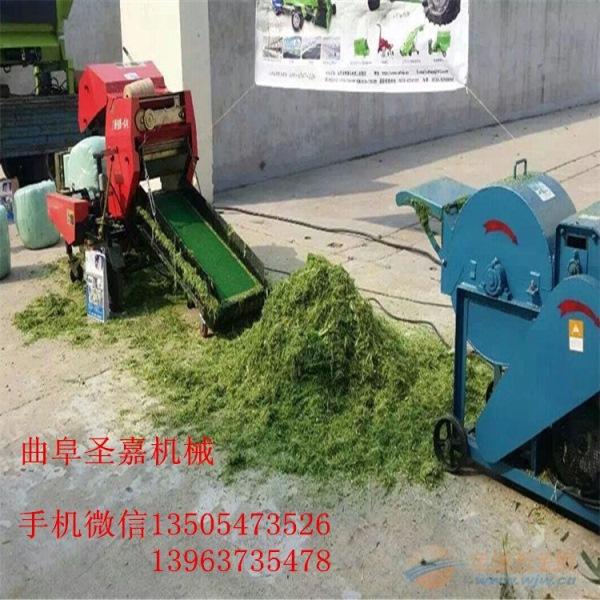 新疆秸秆打捆包膜机 青贮草料包膜打捆机价格