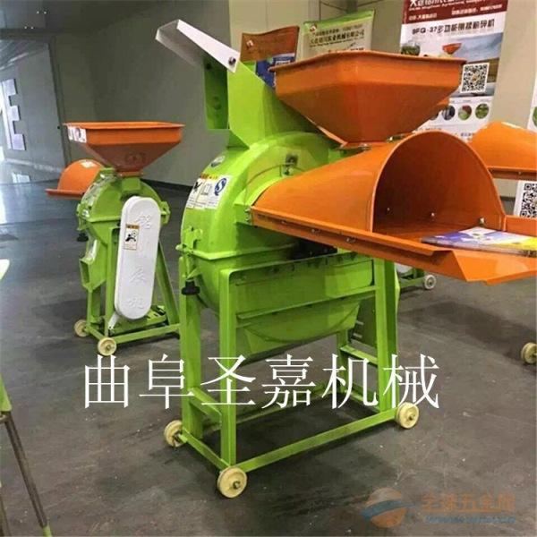 小型家用铡草机 水稻秸秆铡草机型号齐全