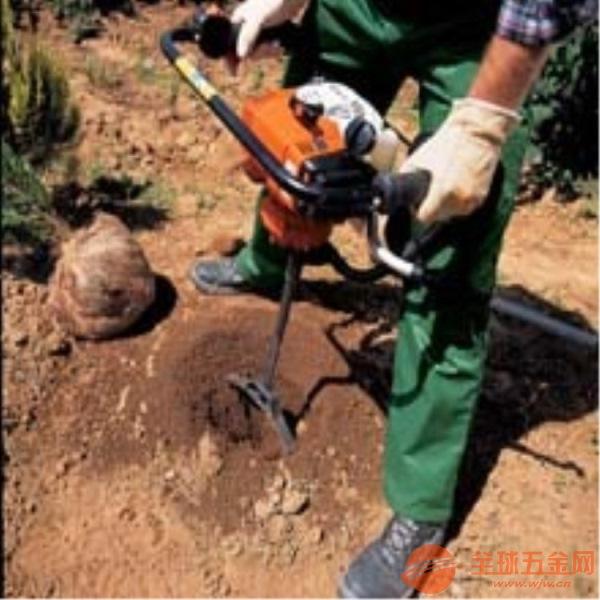 六安新款单人手提挖坑机汽油挖坑机生产厂家