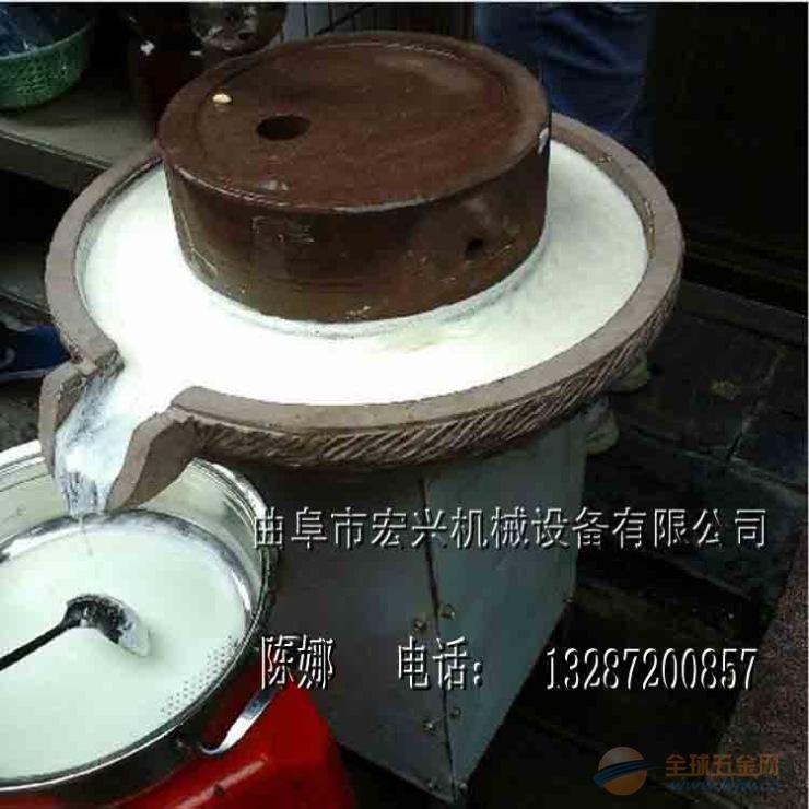 腐坊专用石磨机 电动豆浆石磨机