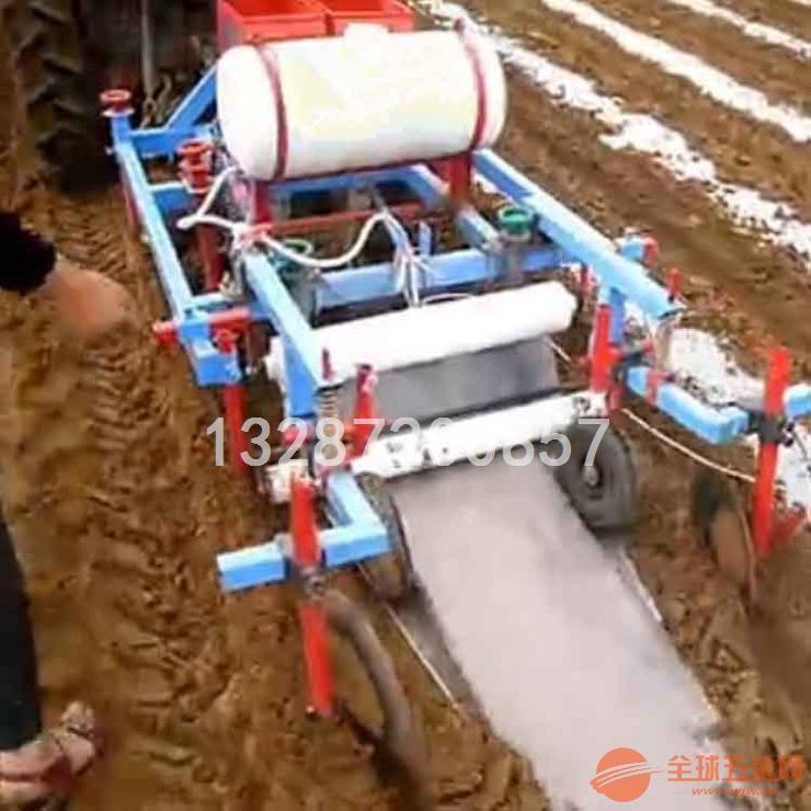 施肥喷药多功能花生播种机 花生喷药覆膜机多少钱
