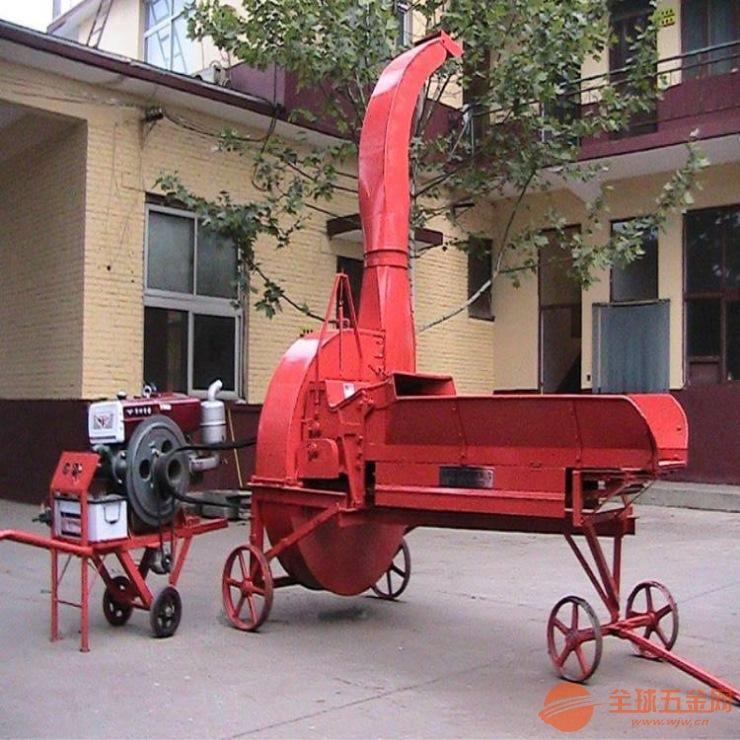 多功能秸秆铡草机 麦谷秸秆铡草机 家用小型铡草机