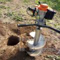单人手提挖坑机价格 大马力植树造林挖坑机型号