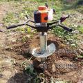 大功率植树挖坑机 合肥市园林机械 手提式植树挖坑机图片