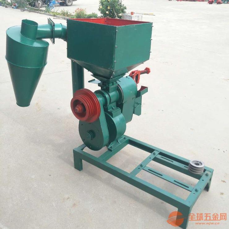 加厚耐磨碾米机小型脱皮制糁机 花生去皮破碎机