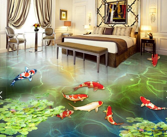 """据悉,这家设计公司还可为客户度身订造不同图案,就连厨房或客厅也可化成海滩的一部份,打造出一个家庭版的""""海洋世界""""。若问,如今什么样的浴室装修最高端大气上档次,莫过于打造3D空间了。3D效果的地板、3D效果的 壁画让浴室瞬间充满幻景。然而,真正的奢华有内涵却要靠在卫浴家具的细节上花心思。"""