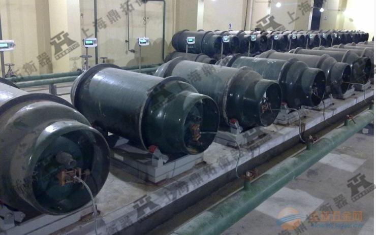 EX-3吨带隔离栅防爆秤,3吨报警防爆电子钢瓶秤