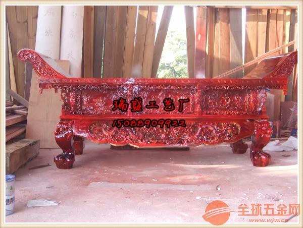 供桌雕刻厂家(寺院供桌定做、菩萨供桌批发)