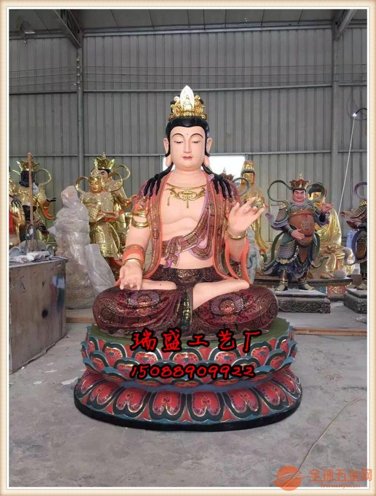 供应坐像西方三圣厂家・玻璃钢・木雕西方三圣佛像雕刻生产厂家