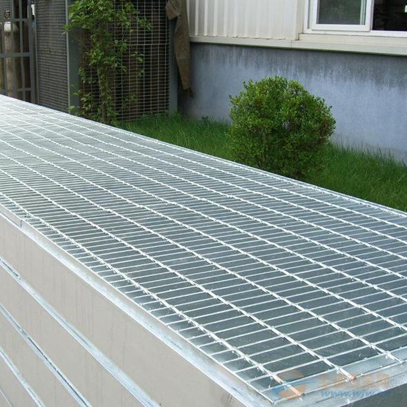 污水处理厂重型钢格板 电厂用重型钢格栅板