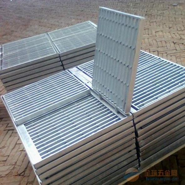 直销排水沟钢格板栅 平台钢格栅板 防滑楼梯踏板