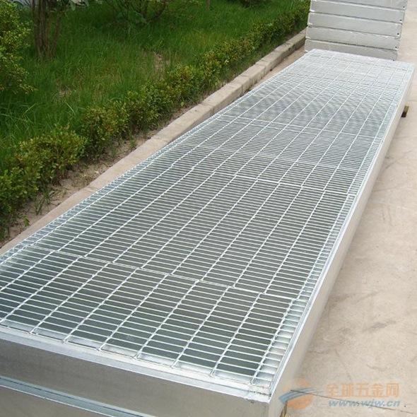 【平台钢格板】供应天桥踏步板 桥梁走道钢格板