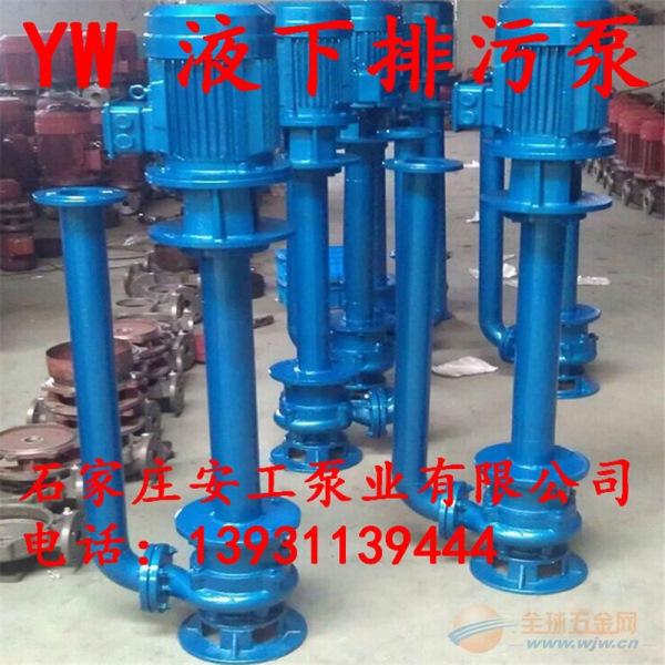 200YW250-22-30液下排污泵(点击咨询)
