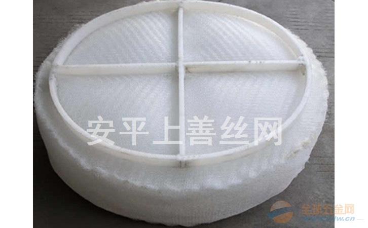 脱硫塔后除水汽丝网除沫器