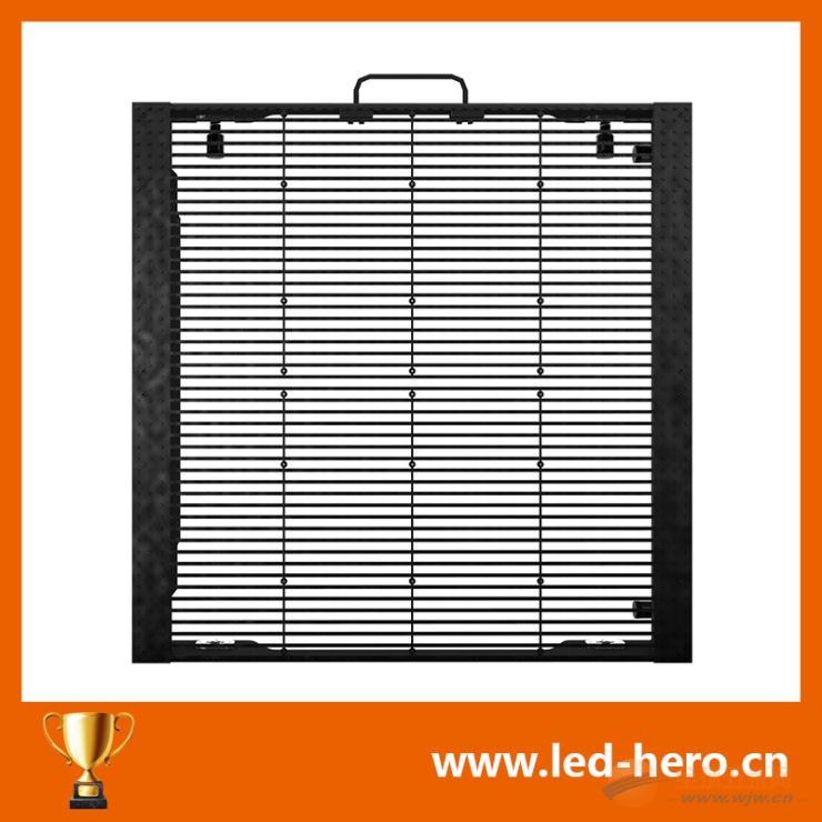 北京LED透明屏厂家安装维护
