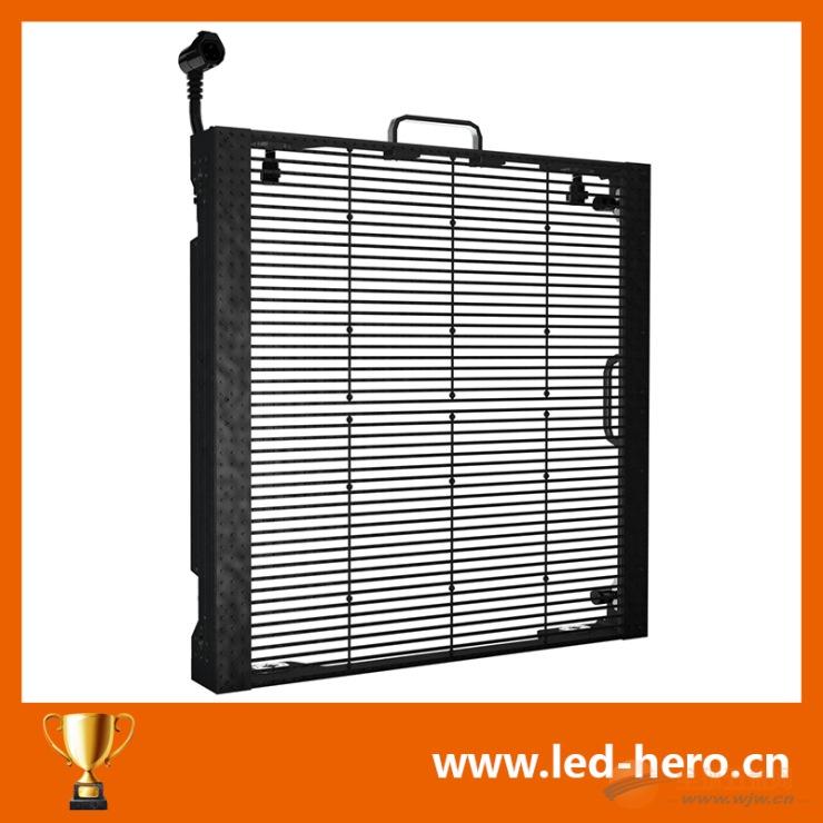 天津LED透明屏厂家安装维护