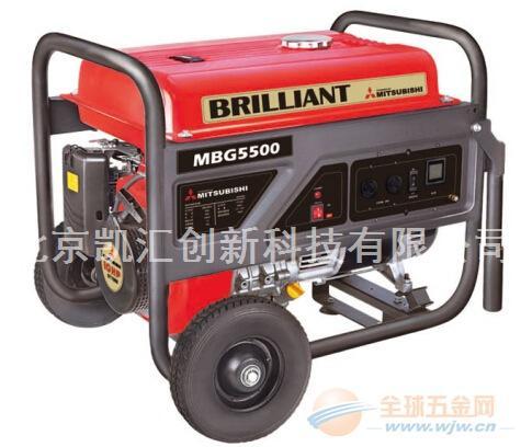 1kw三菱汽油发电机MBG1200
