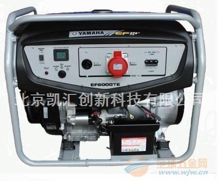 6kw雅马哈汽油发电机EF6000TE