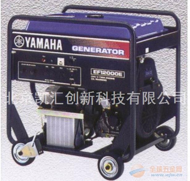 10kw雅马哈汽油发电机EF12000E