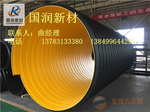 大口径排污钢带增强波纹管