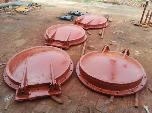 湖南150mm铸铁拍门价格/铸铁拍门直销商