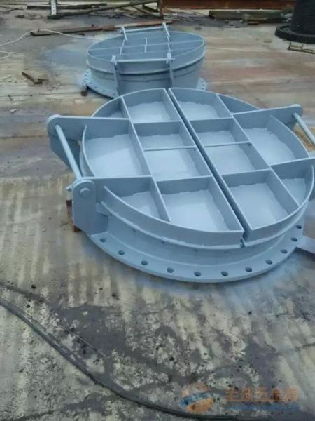 出水管道钢制拍门价格/钢制拍门厂家
