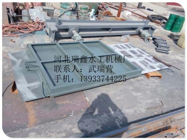 保定渠道钢制闸门厂家|河道平面定轮钢闸门