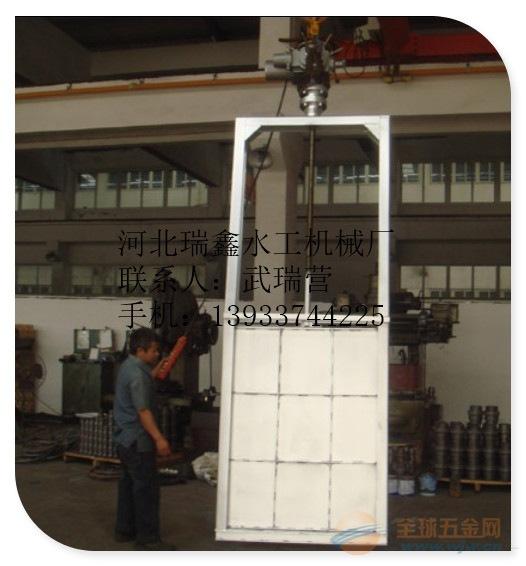 兴安盟铸铁钢闸门/污水钢制插板闸门直销