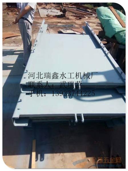 大庆平面定轮钢制闸门=滑块钢闸门报价销售