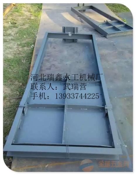 珠海渠道钢制闸门厂家|河道平面定轮钢闸门