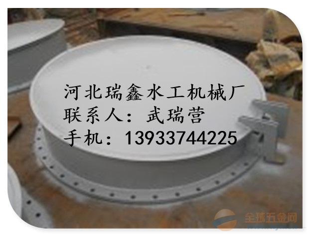 出水管道钢制拍门价格-订购厂家