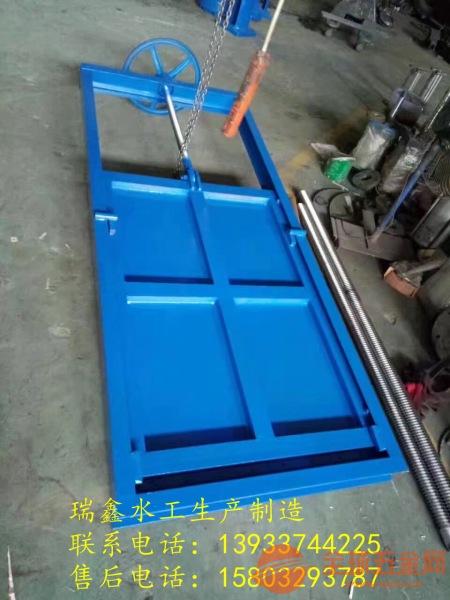 翻板钢制闸门数十年制造经验