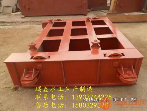温州平面定轮钢制方形闸门//厂家直销没有中间商赚差价