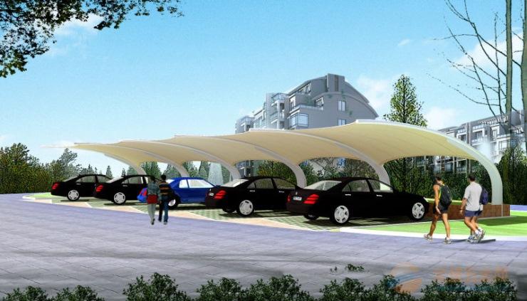 西青区 膜结构车棚厂家免费设计