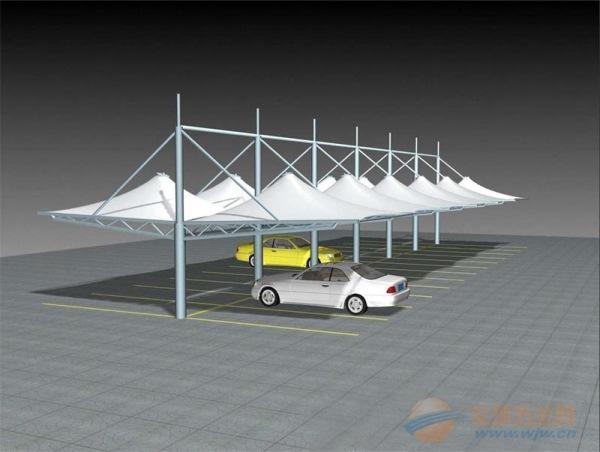营口膜结构充电桩雨棚报价