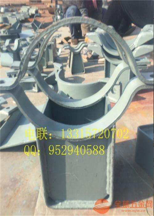 洛阳 WT-10型可调弯头支托 HK-2卡箍型滑动管托 按图定做