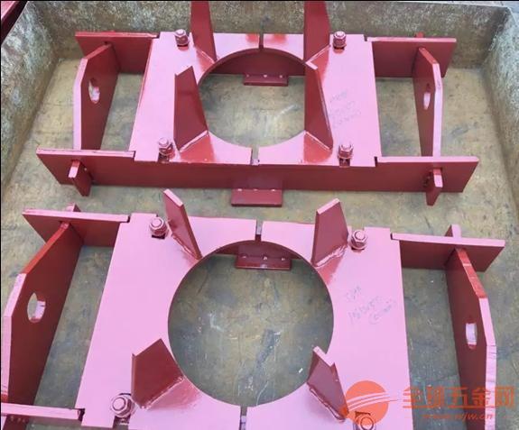 扬州 导向管托 DT-1导向管托 弧形板滑动支座按图定做
