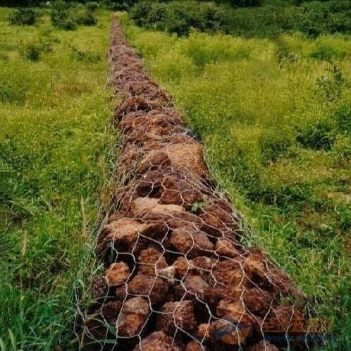 杰晨石笼网兜,拧花石笼网,石笼网袋产品图片
