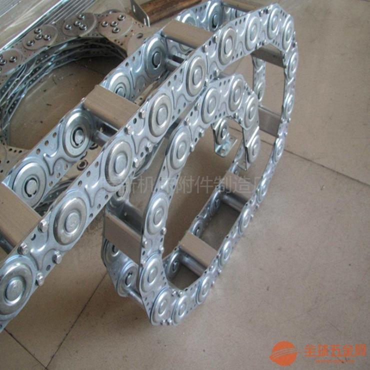 耐磨钢制拖链,静音抗压钢制拖链厂家