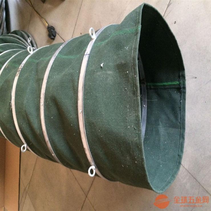 帆布通风软连接 粉尘输送软连接厂家
