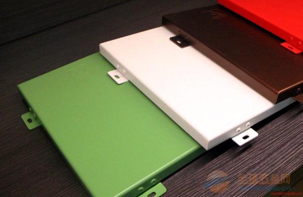 定制各种颜色喷涂铝单板