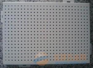 氟碳喷涂冲孔铝单板