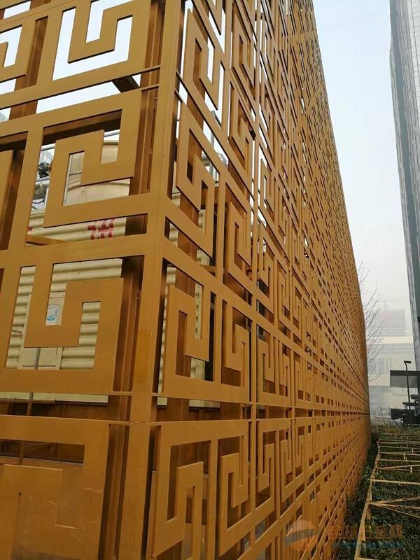 秦皇岛雕刻造型雕花幕墙铝单板户外