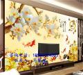 广东瓷砖客厅背景墙3D彩雕平板喷绘机