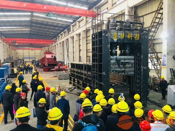 新蔡800吨龙门式剪切机图片