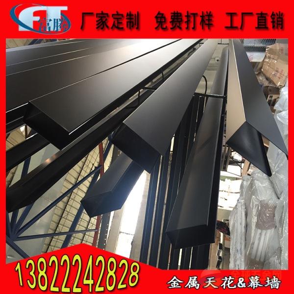 贵州黑色喷粉铝方通生产批发厂家选材精良质量可靠