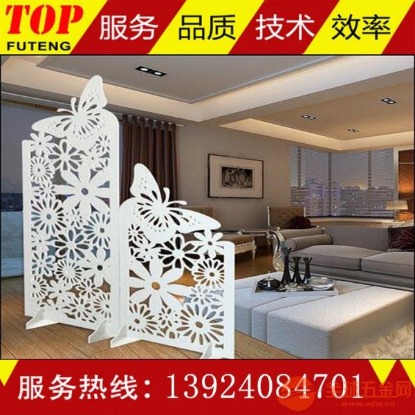 室内墙面装饰雕花铝方板定制外型美观坚固耐用