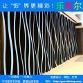 弧形幕墙铝方通 弧形铝方通搭配龙骨