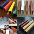 u字铝合金方通,表面木纹/氟碳/喷涂处理